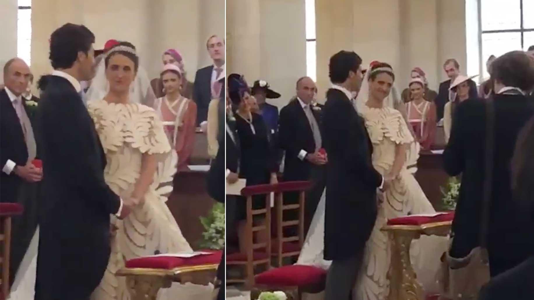 Vidéos du mariage de Jean,Christophe Napoléon à l\u0027intérieur